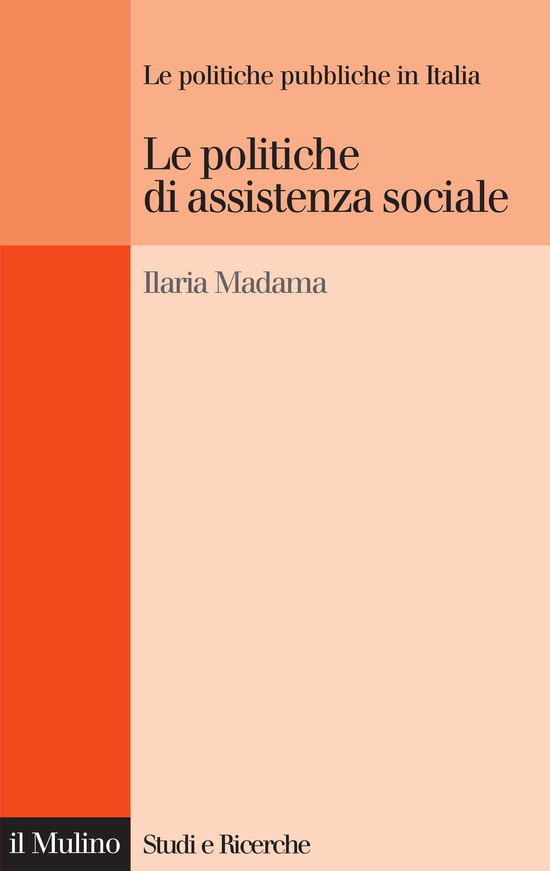 Copertina del libro Le politiche di assistenza sociale