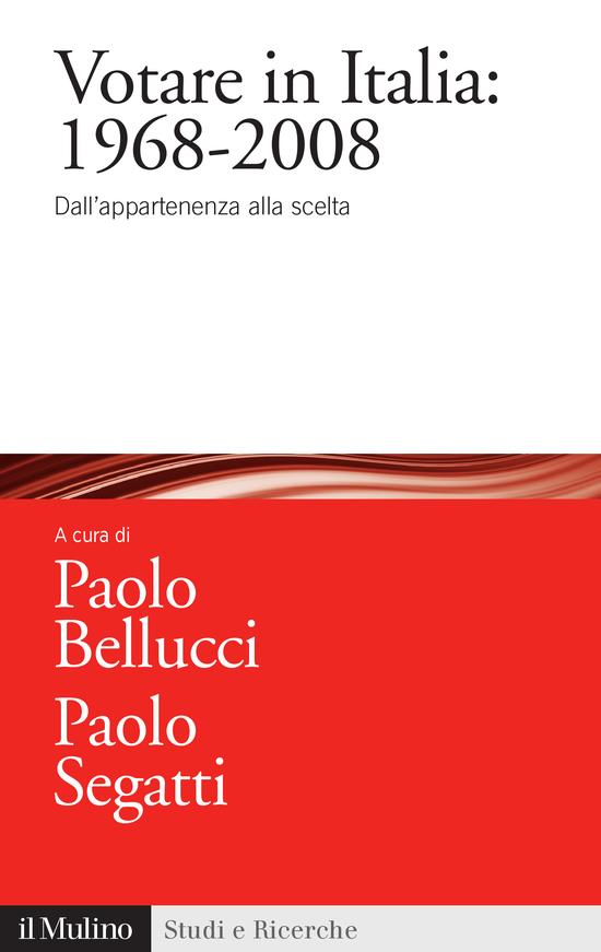 Copertina del libro Votare in Italia: 1968-2008