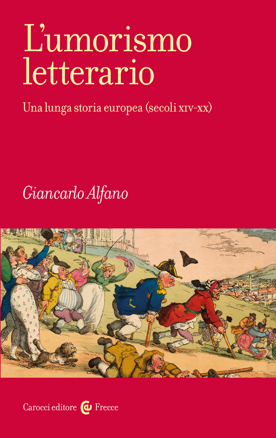 Copertina del libro L'umorismo letterario