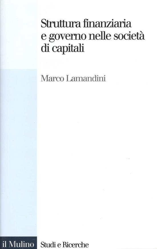 Struttura finanziaria e governo nelle società di capitali